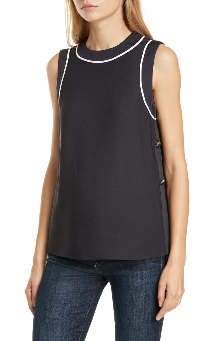 TED BAKER LONDON Bamby Sleeveless Top, Main, color, 410