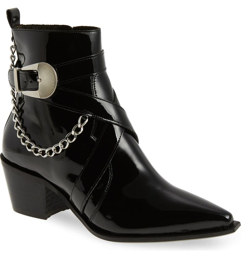 TOPSHOP Move It Western Boot, Main, color, 001