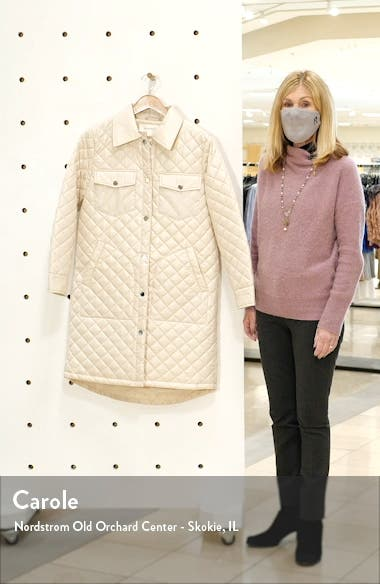 Long Quilted Jacket, sales video thumbnail