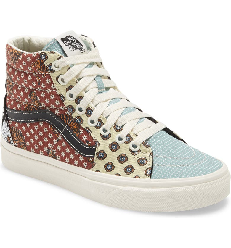 VANS Sk8-HI Platform Lace-Up Sneaker, Main, color, 001