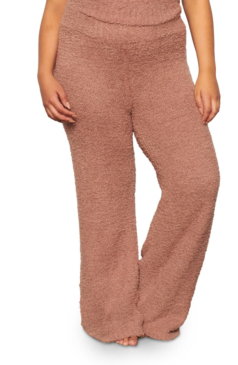 SKIMS Cozy Knit Pants, Main, color, ROSE CLAY