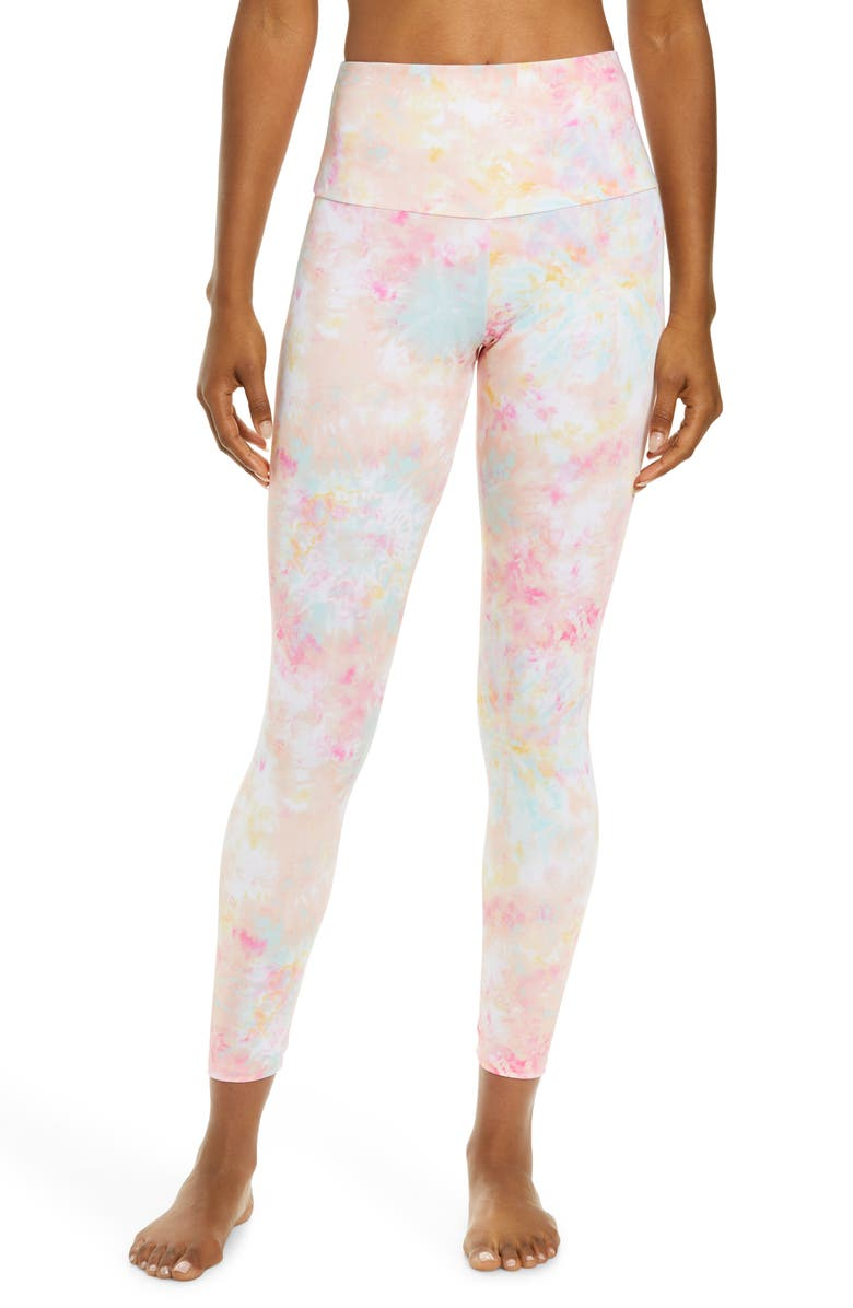 ONZIE High Rise Capris, Main, color, ROSE ALL DAY