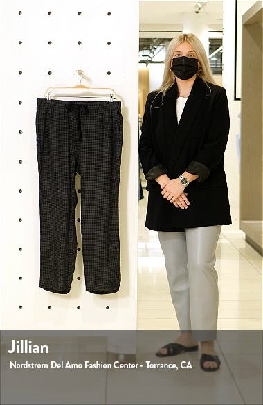 Organic Linen Tapered Ankle Pants, sales video thumbnail