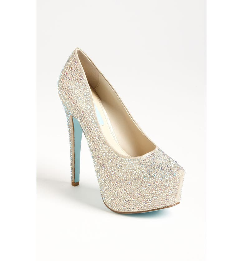 BETSEY JOHNSON Blue by Betsey Johnson 'Wish' Pump, Main, color, 710