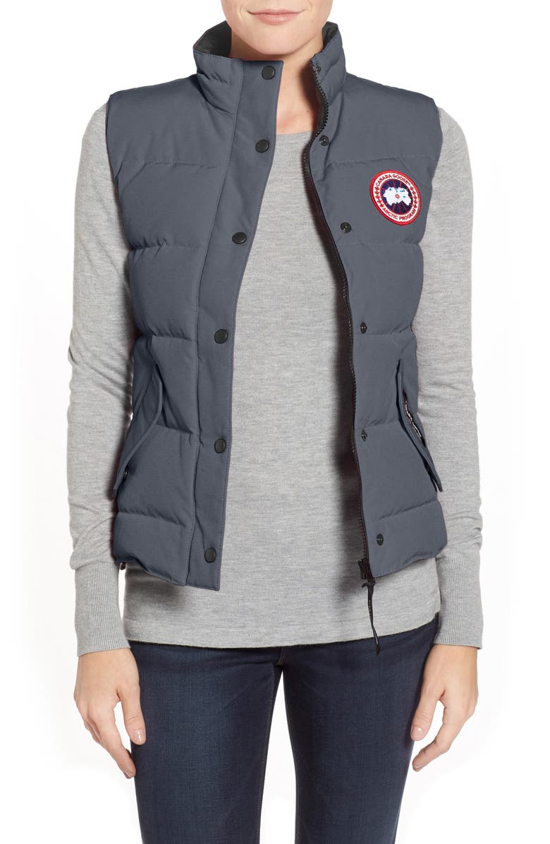 CANADA GOOSE Freestyle Down Vest, Main, color, GRAPHITE