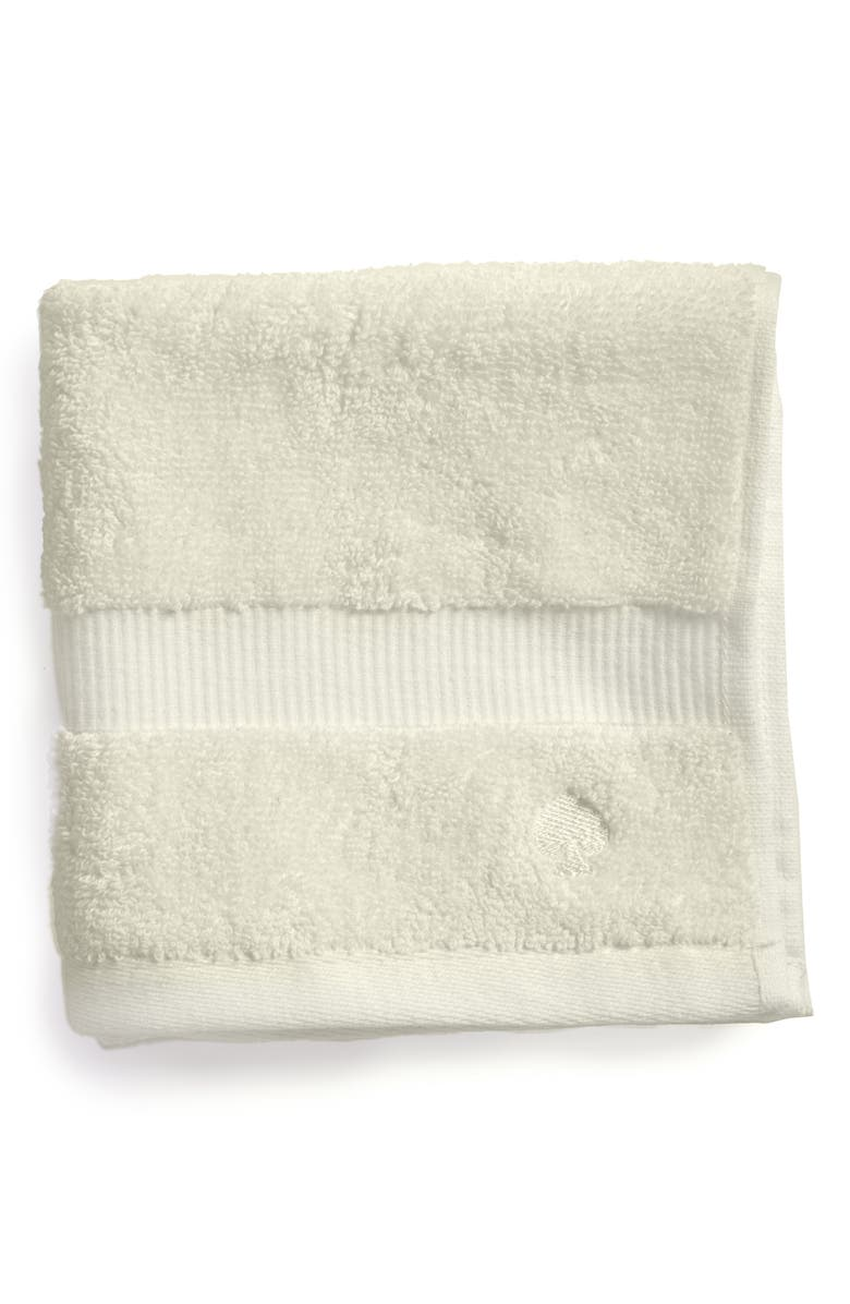 KATE SPADE NEW YORK 'chattam stripe' wash towel, Main, color, 040