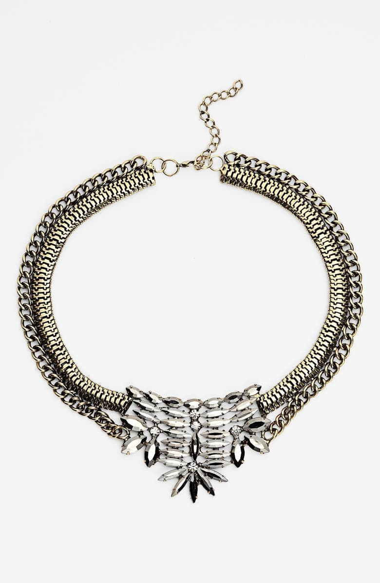 TILDON 'Kitsch' Statement Necklace, Main, color, 001