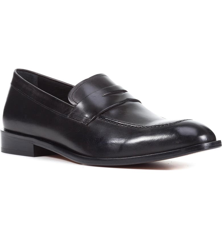GEOX Saymore 3 Penny Loafer, Main, color, 001