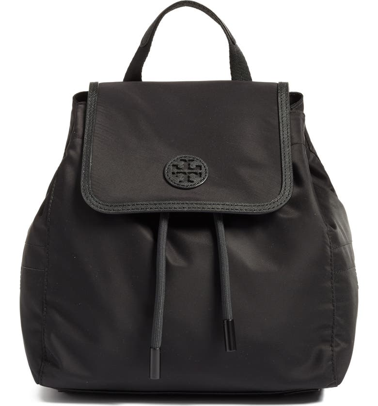 TORY BURCH Small Scout Nylon Backpack, Main, color, 001