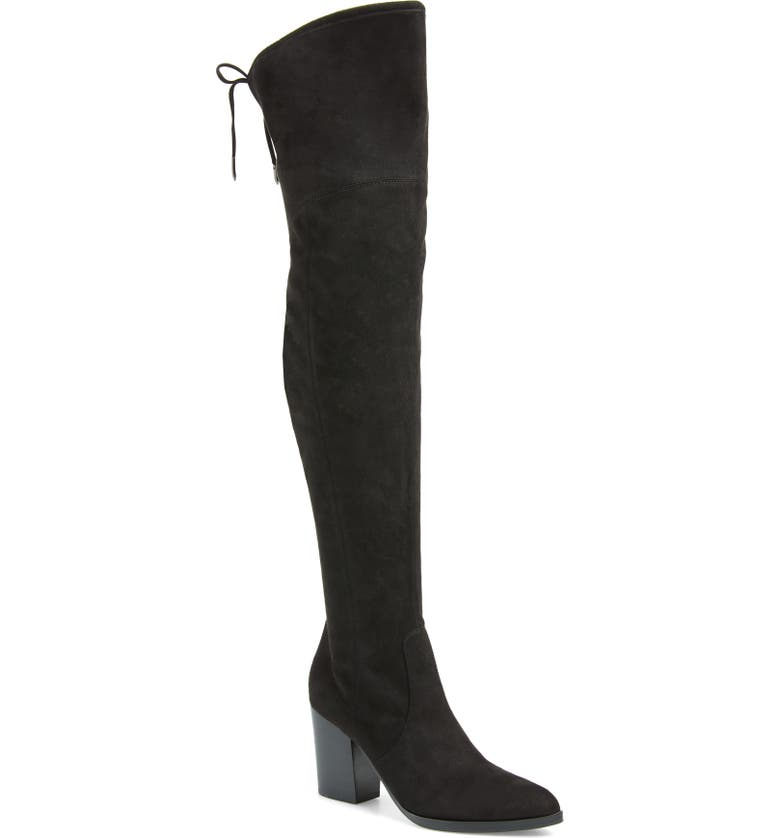 MARC FISHER LTD Arletta Over the Knee Boot, Main, color, 001