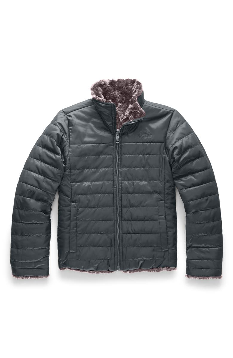 THE NORTH FACE Mossbud Swirl Reversible Water Repellent Heatseeker<sup>™</sup> Jacket, Main, color, 021