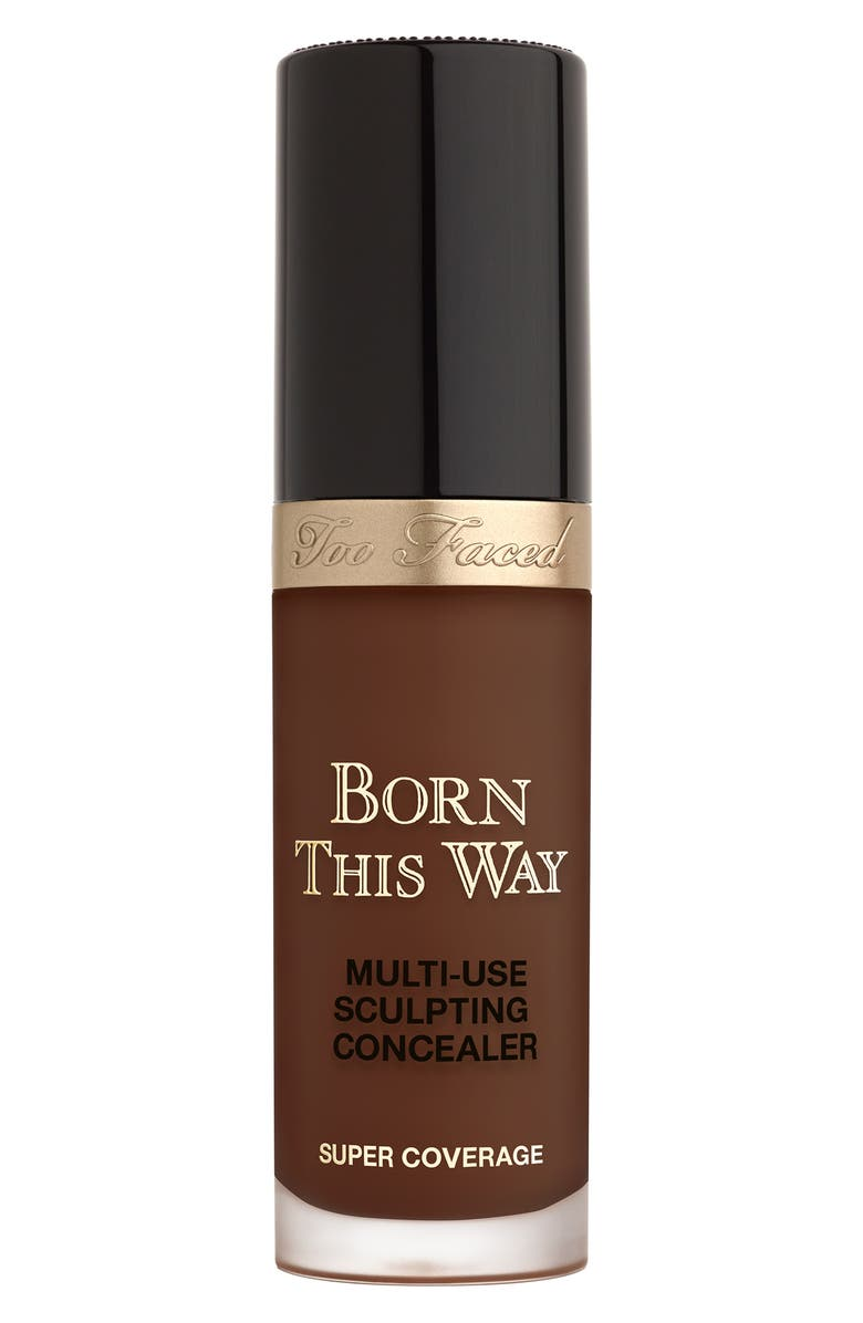 TOO FACED Born This Way Super Coverage Multi-Use Concealer, Main, color, GANACHE