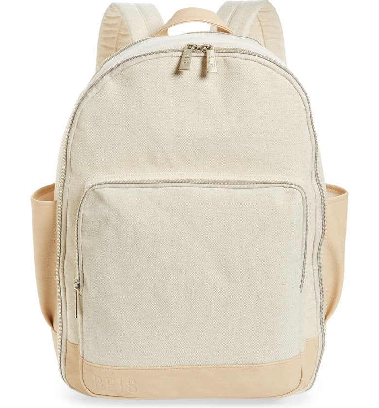 BÉIS The Backpack, Main, color, BEIGE