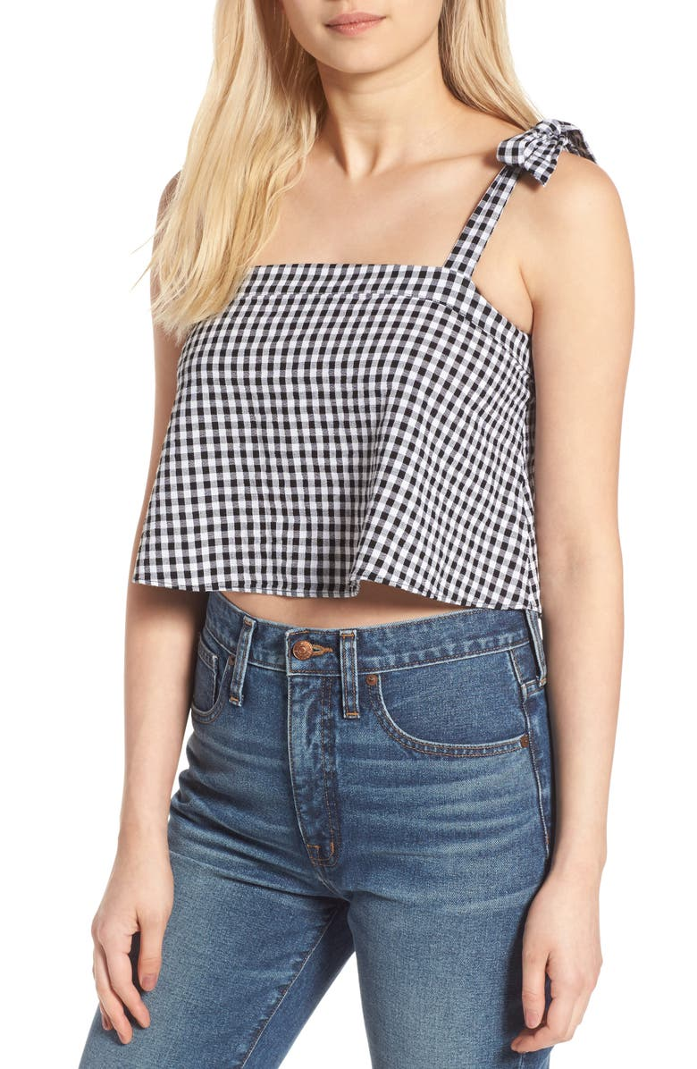 MADEWELL Tie Strap Tank, Main, color, 009