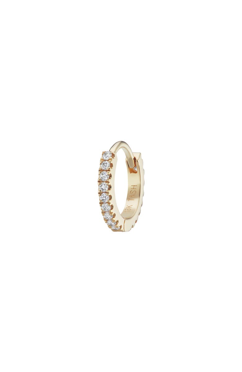 MARIA TASH Diamond Eternity Clicker, Main, color, YELLOW GOLD/ DIAMOND