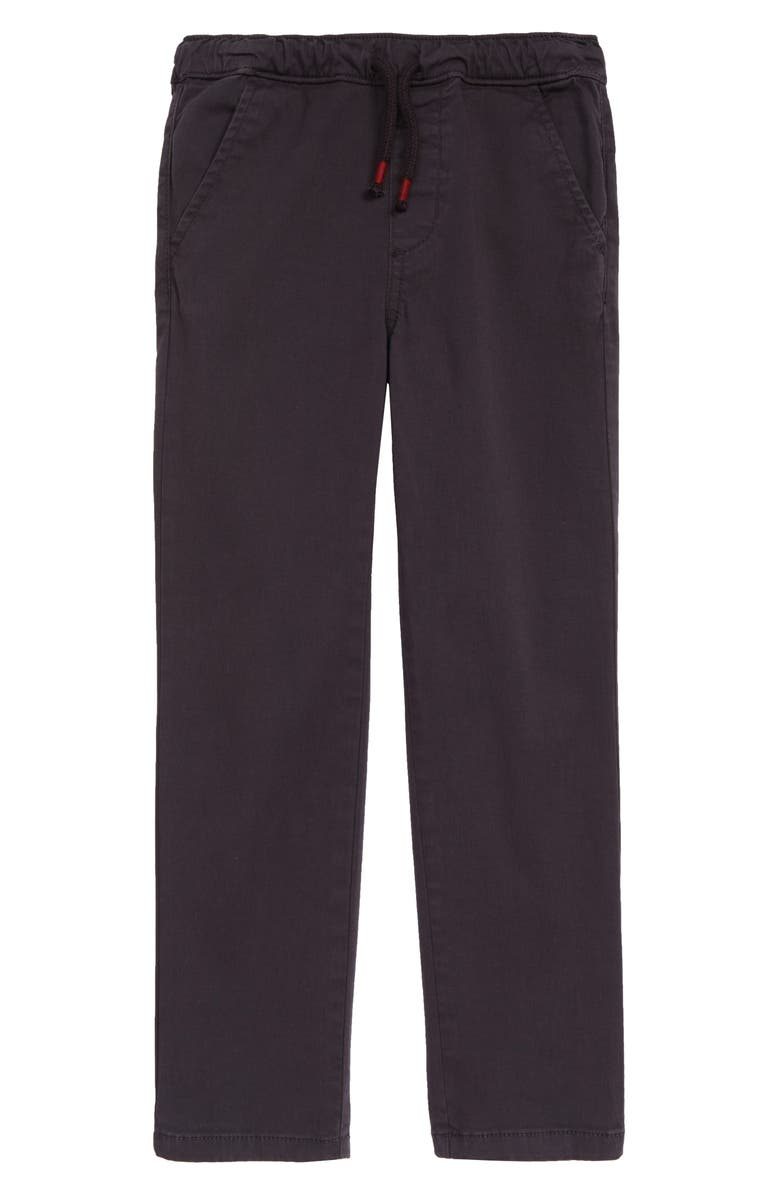 TUCKER + TATE Kids' All Day Relaxed Pants, Main, color, NAVY CHARCOAL