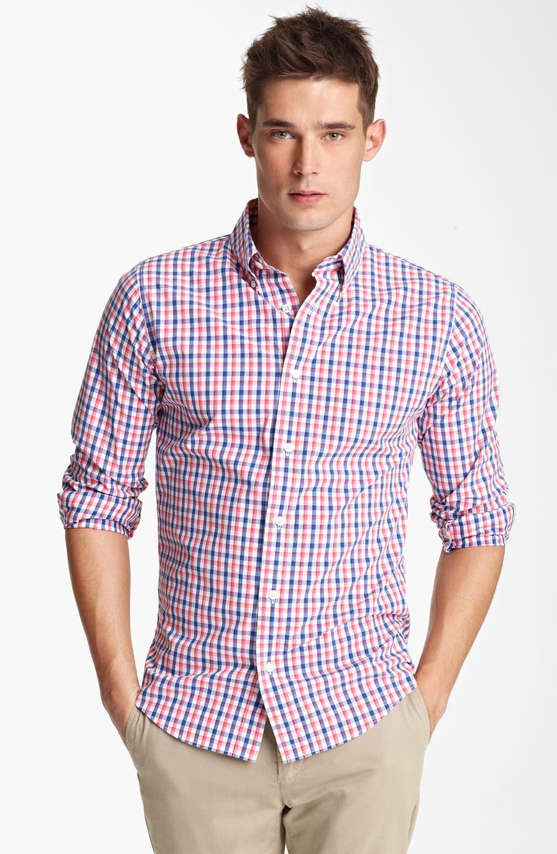 JACK SPADE 'Bailey' Gingham Check Shirt, Main, color, 402