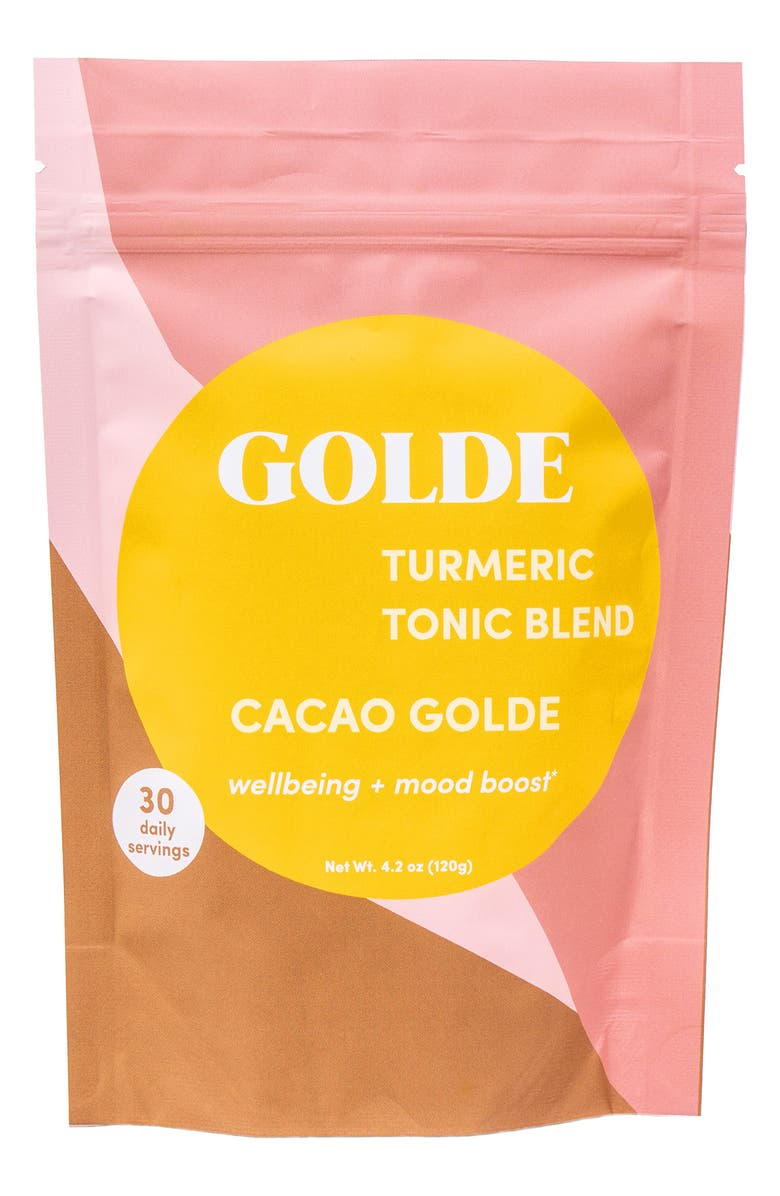 GOLDE Cacao Golde Turmeric Tonic Blend, Main, color, 000