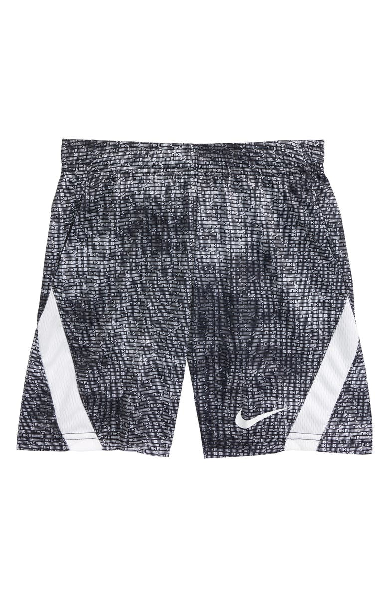 NIKE Dri-FIT Graphic Athletic Shorts, Main, color, 019