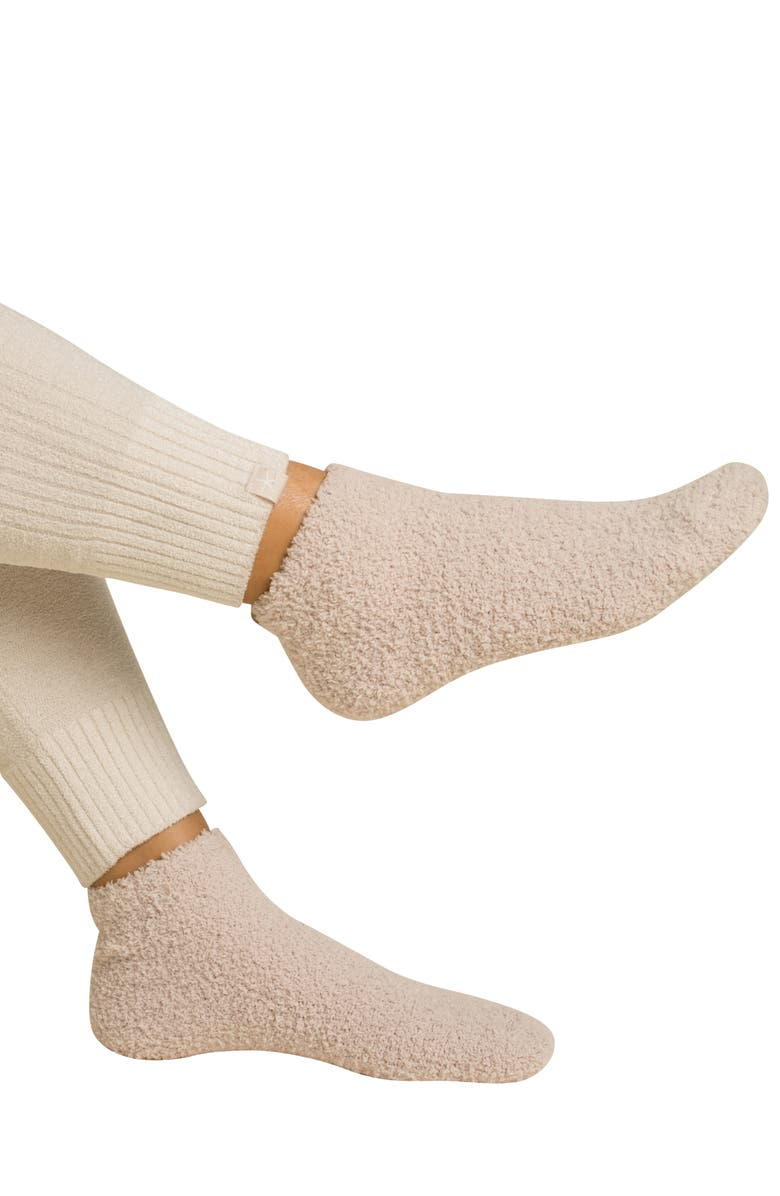 BAREFOOT DREAMS<SUP>®</SUP> CozyChic<sup>™</sup> Assorted 2-Pack Ankle Socks, Main, color, 020