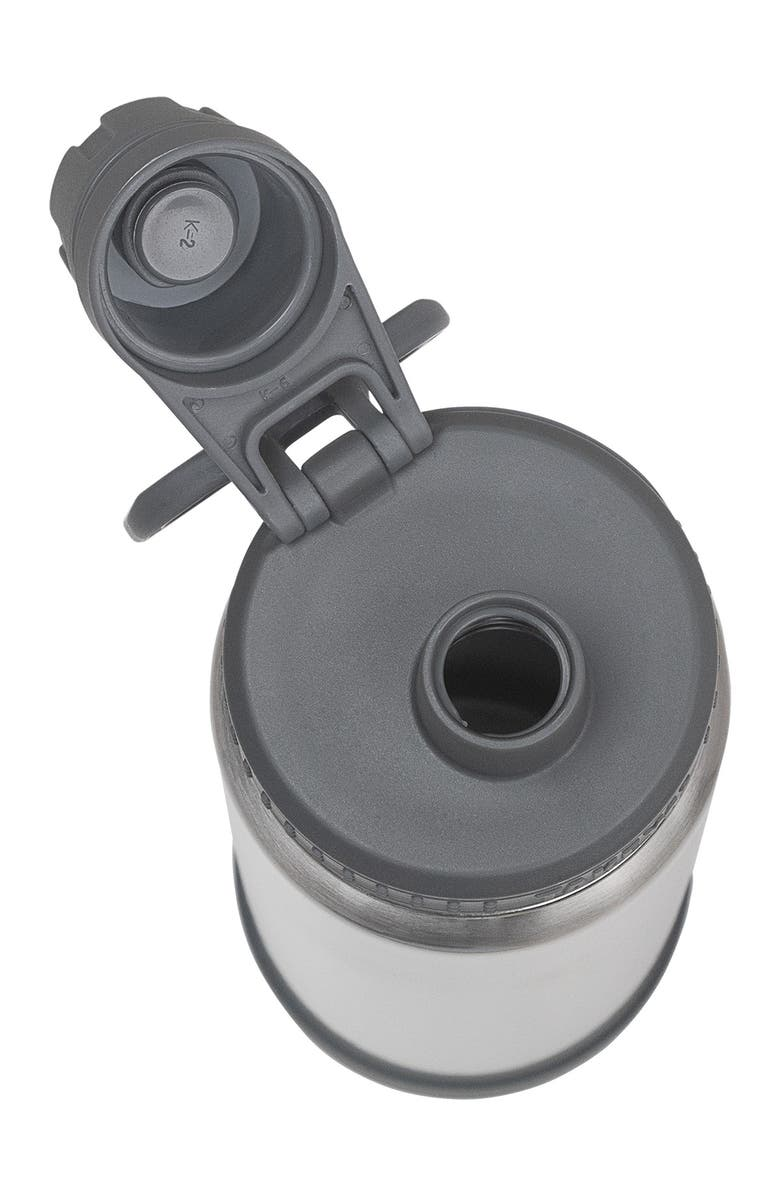 TAKEYA Steel Actives Insulated 22 oz. Spout Lid Stainless Steel Bottle, Main, color, STEEL
