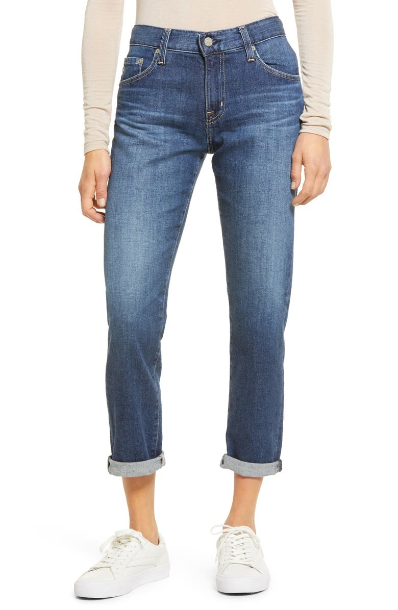 AG The Ex-Boyfriend Slim Jeans, Main, color, 12 YEARS BRISK
