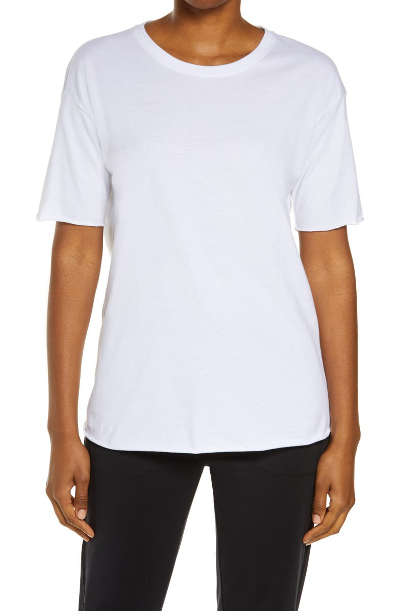 ALO Everyday T-Shirt, Main, color, White