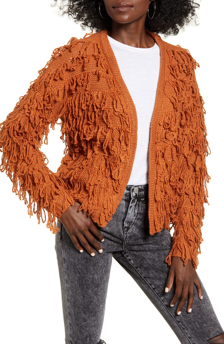 ANGIE Shaggy Cardigan, Main, color, 207