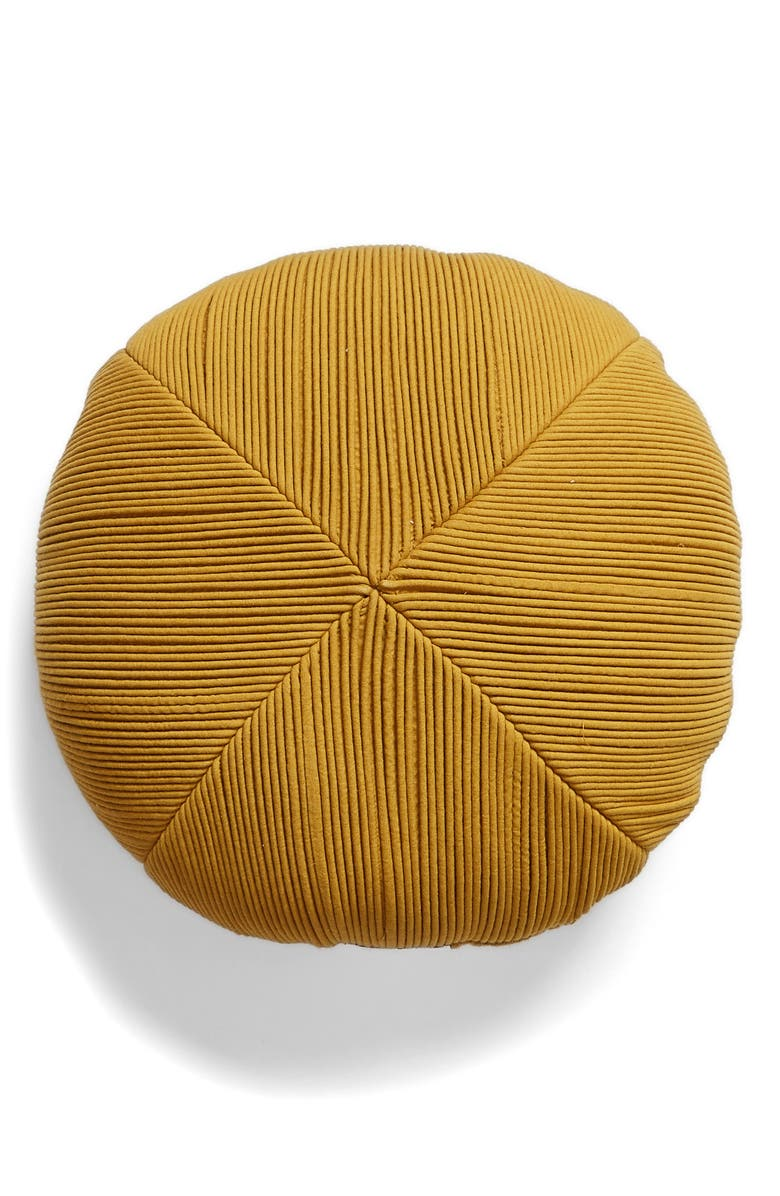 NORDSTROM Textured Round Accent Pillow, Main, color, 300