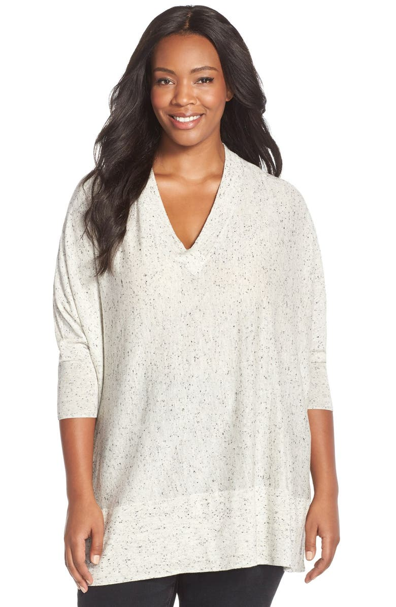 SEJOUR V-Neck Dolman Sleeve Pullover, Main, color, 050