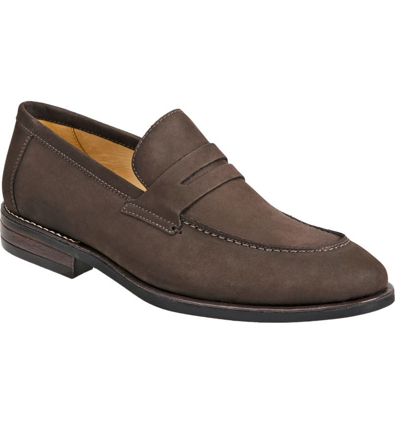 SANDRO MOSCOLONI Antoine Penny Loafer, Main, color, BROWN