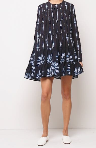 Soliman Tiered Long Sleeve Dress, video thumbnail