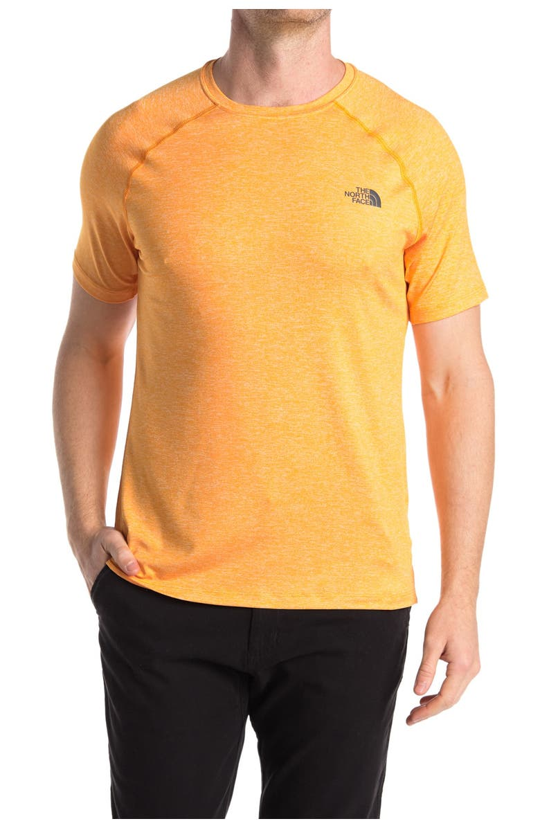 THE NORTH FACE Hyperlayer Active T-Shirt, Main, color, FLAME ORAN