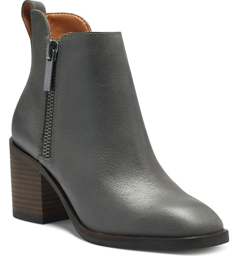LUCKY BRAND Walba Bootie, Main, color, GUNMETAL LEATHER