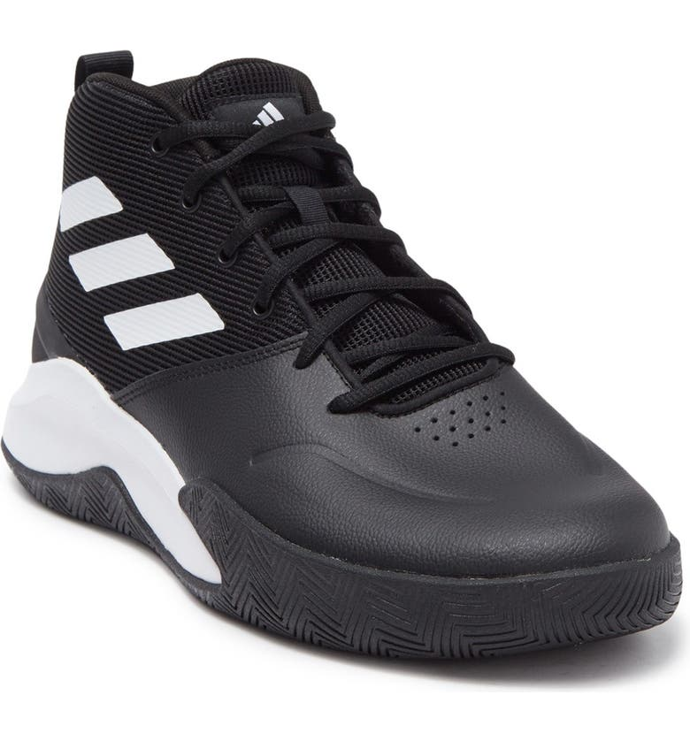 ADIDAS Own the Game Sneaker, Main, color, CBLACK/FTW