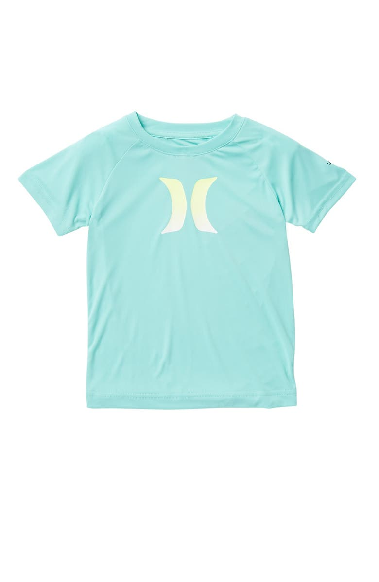 HURLEY Ombre Icon UPF Shirt, Main, color, F1P-FOREST