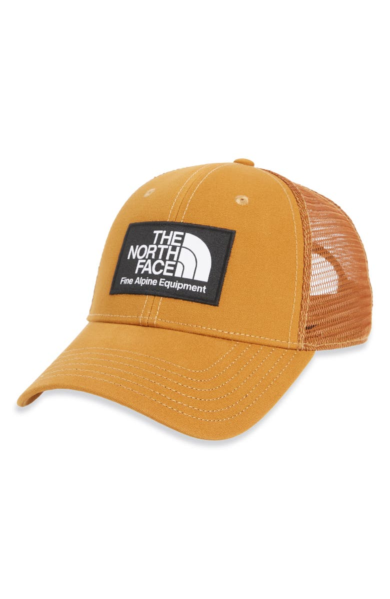 THE NORTH FACE Mudder Trucker Hat, Main, color, TIMBER TAN
