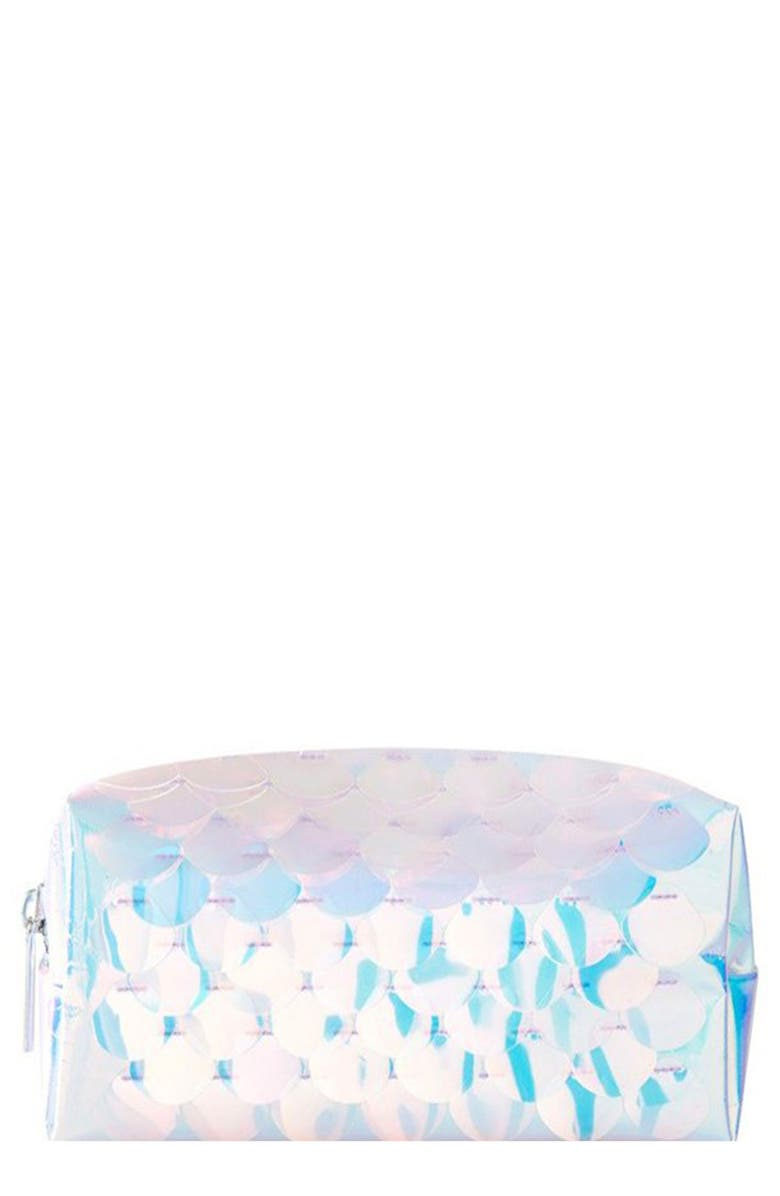 SKINNYDIP Skinny Dip Mermaid Makeup Bag, Main, color, 000
