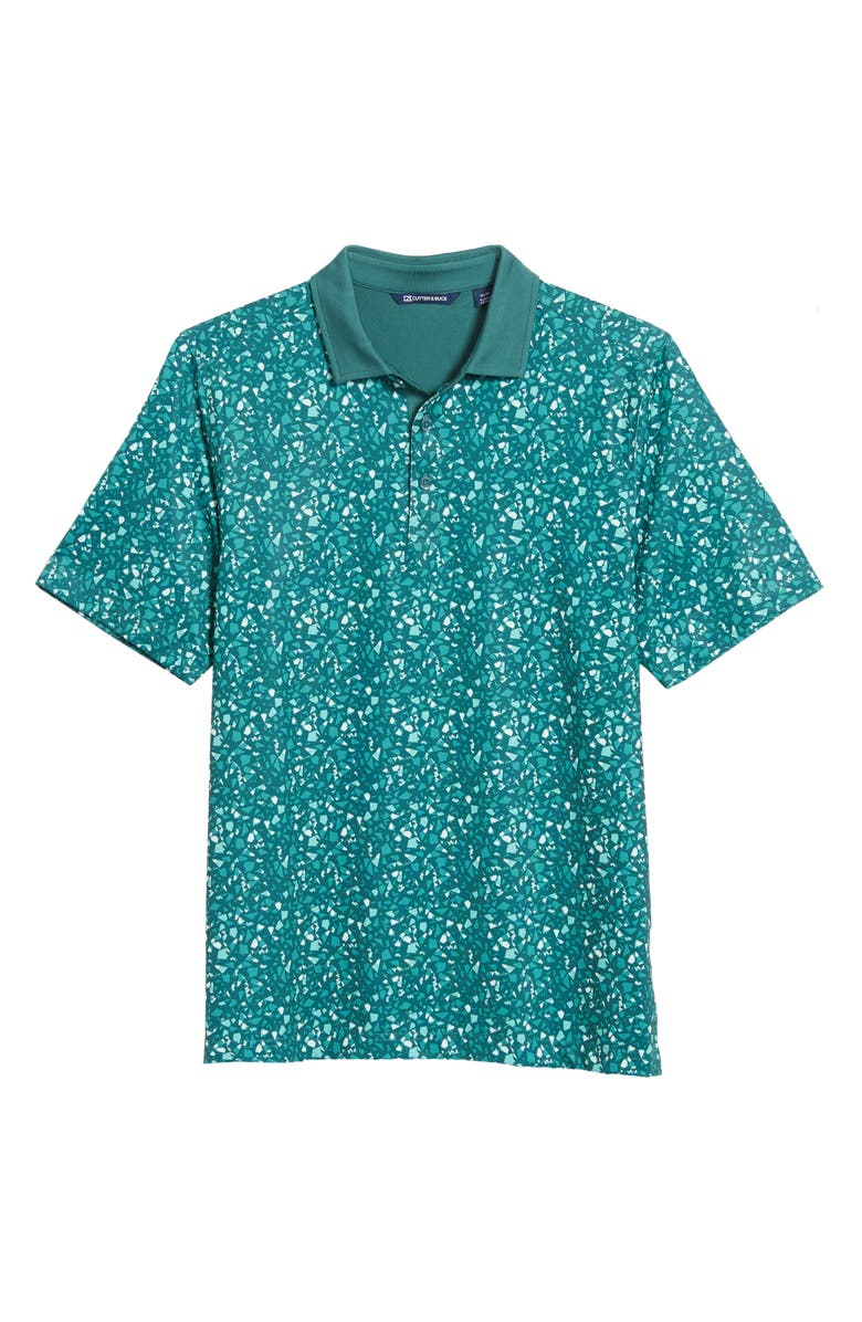 CUTTER & BUCK Forge DryTec Performance Polo, Main, color, SEAWEED
