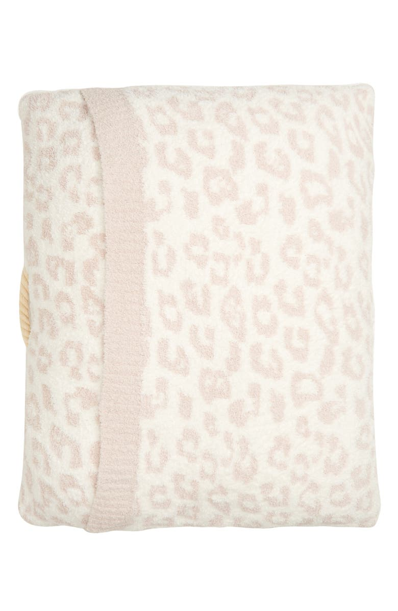 BAREFOOT DREAMS<SUP>®</SUP> CozyChic<sup>™</sup> Leopard Pet Bed, Main, color, CREAM/ STONE