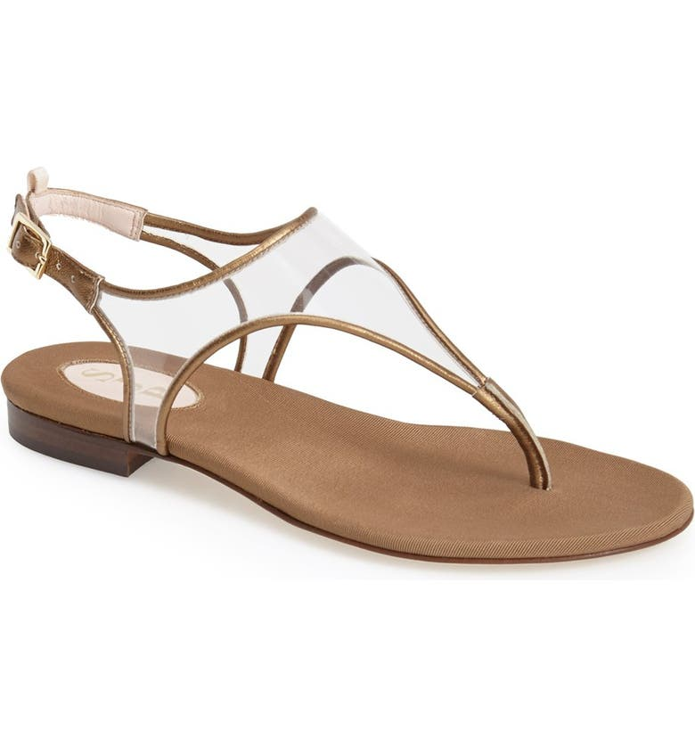 SJP BY SARAH JESSICA PARKER 'Beatrix' Translucent Thong Sandal, Main, color, 220