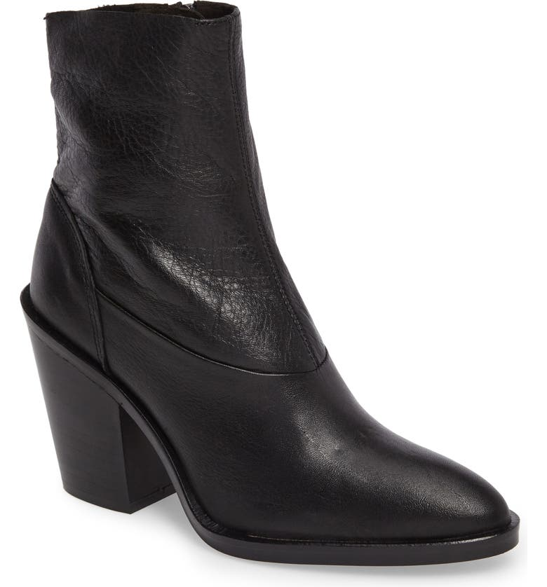 TOPSHOP May Sock Bootie, Main, color, 001