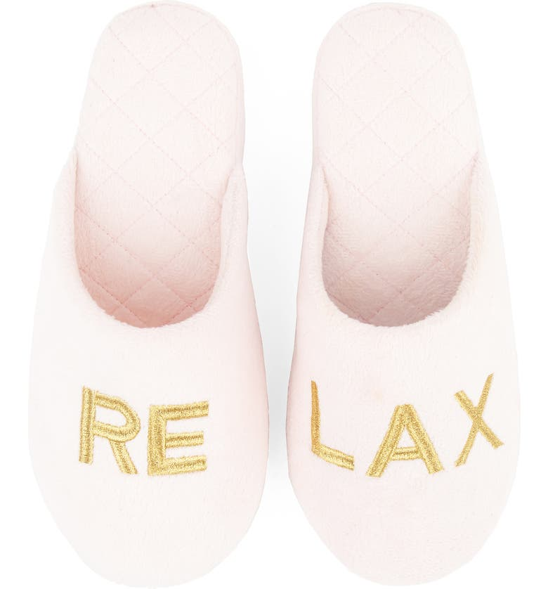 PATRICIA GREEN Relax Slipper, Main, color, PINK FABRIC