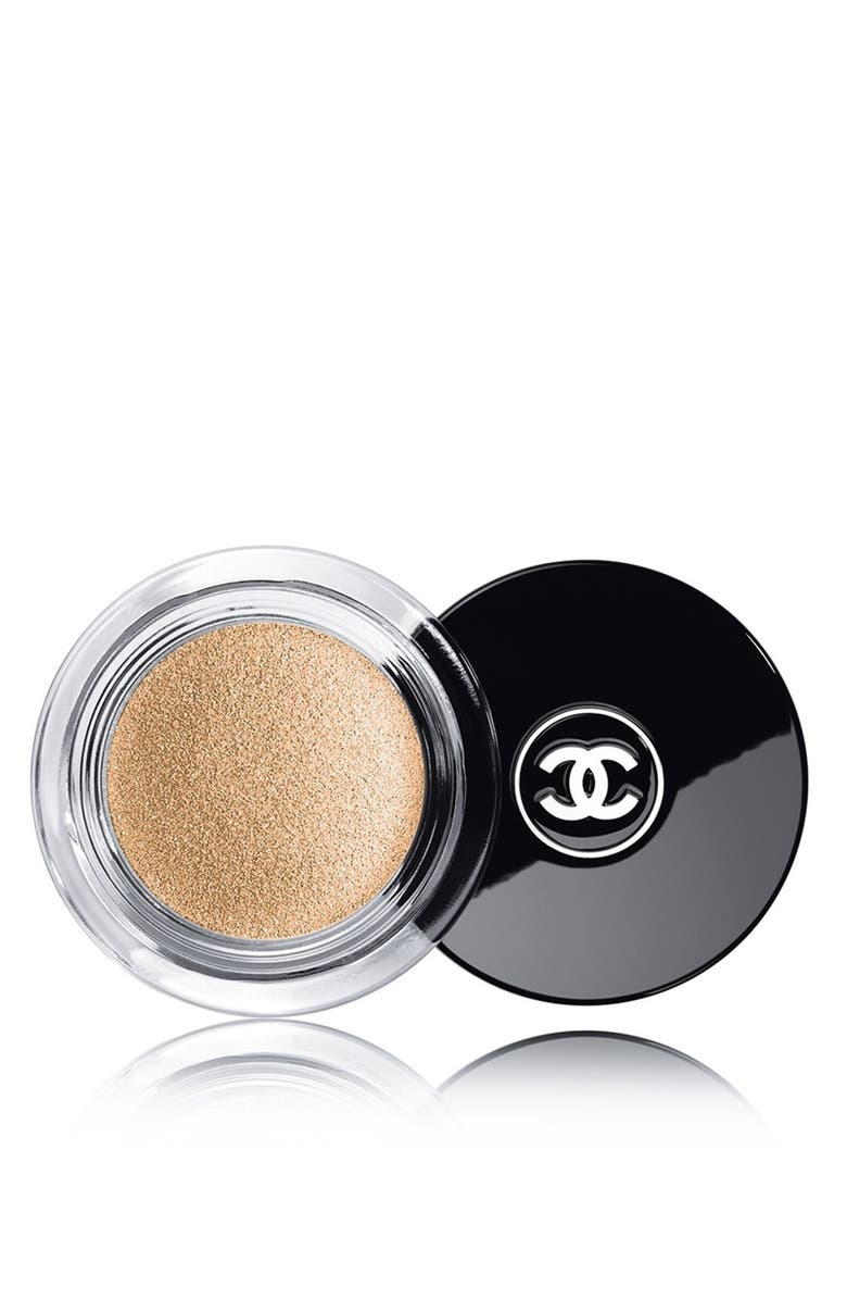 CHANEL ILLUSION D'OMBRE <br />Long-Wear Luminous Eyeshadow, Main, color, 90 CONVOITISE