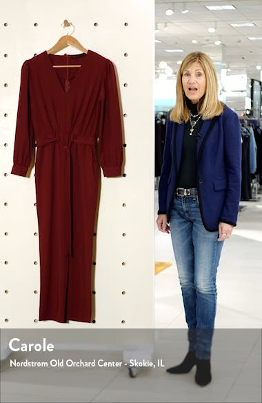 Tie Front Jumpsuit, sales video thumbnail