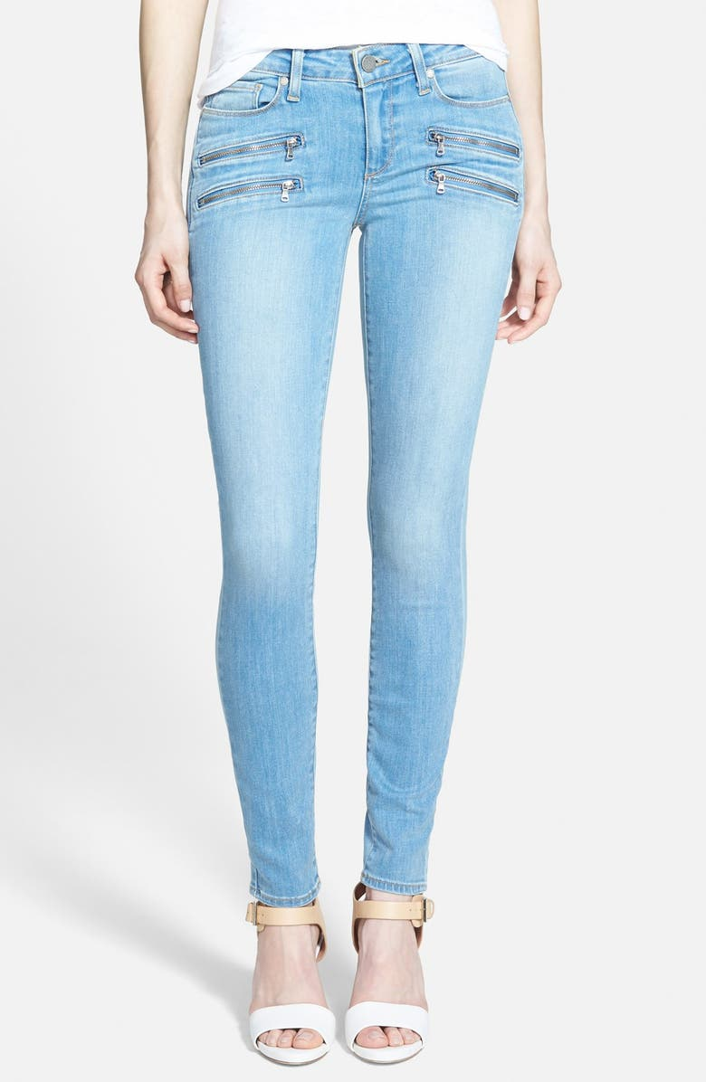 PAIGE Denim 'Edgemont' Ultra Skinny Jeans, Main, color, MADDIE NO WHISKERS