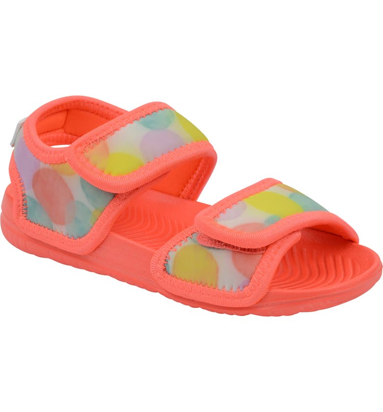 MINNOW DESIGNS Dotty Water Resistant Sandal, Main, color, SHELL PINK
