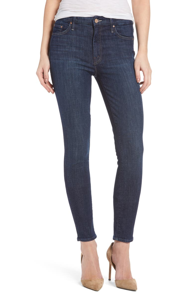MOTHER 'The Looker' High Rise Skinny Jeans, Main, color, 410