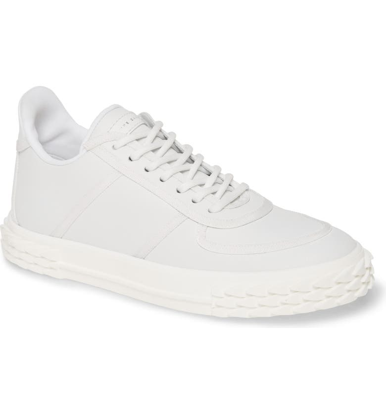 GIUSEPPE ZANOTTI Low Top Sneaker, Main, color, 100