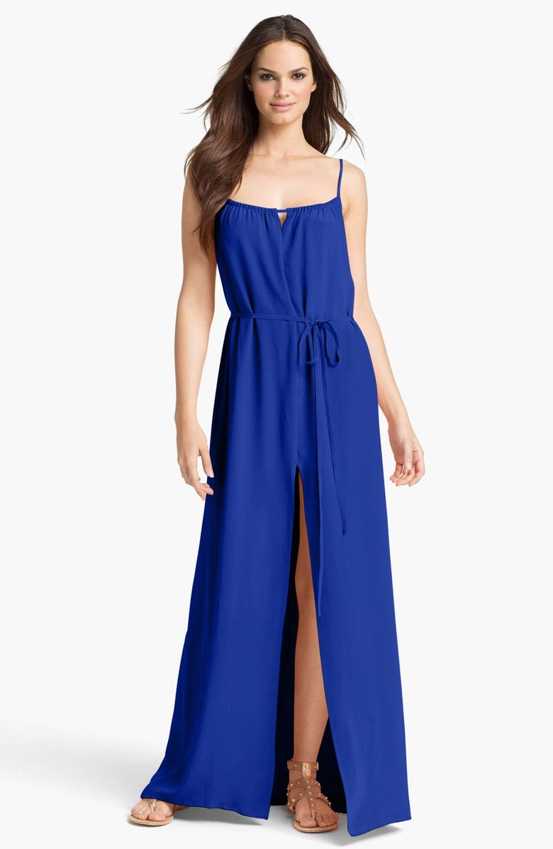 FRENCH CONNECTION 'Chelsea' Silk Maxi Dress, Main, color, 431